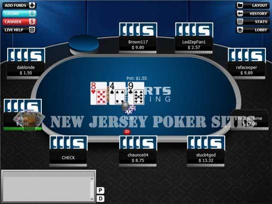 List of online poker sites new jersey